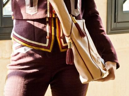 Bag mod.Lorenza indossata