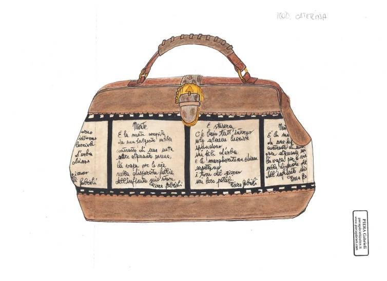 Disegno bag modello Caterina