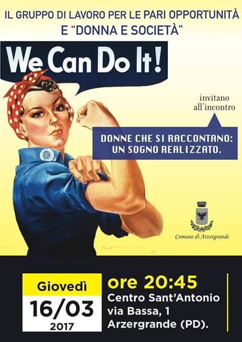 donne e società donne che si raccontano ad Arzergrande